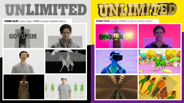 Bronzen Lamp voor Tele2 Unlimited campagne